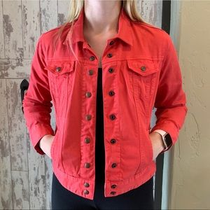 Lucky Brand red jacket